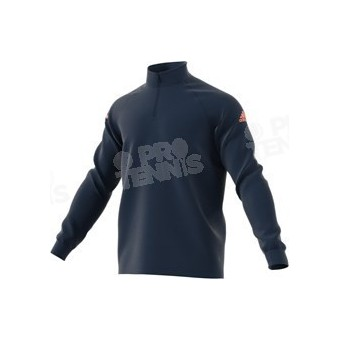 SWEAT ADIDAS HOMME CLUB MIDLAYER NAVY / CORAIL PE18