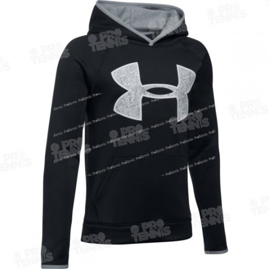 SWEAT UNDER ARMOUR JUNIOR NOIR / GRIS AH17