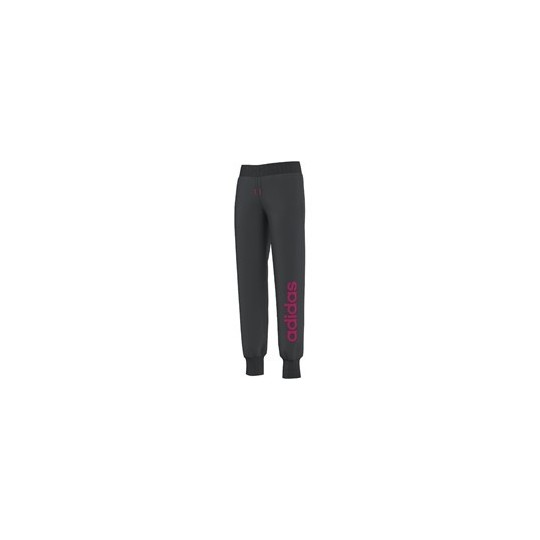 ADIDAS PANTALON ESSENTIEL JUNIOR GRIS/ROSE
