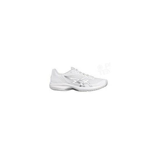 CHAUSSURES ASICS GEL COURT SPEED HOMME BLANC / SILVER PE18