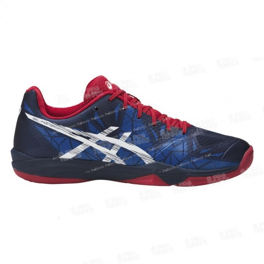 ASICS GEL FASTBALL 3 MEN NAVY / BLEU / ROUGE AH17 INDOOR