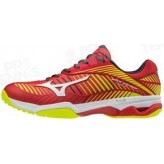 CHAUSSURES MIZUNO WAVE EXCEED TOUR 3 AC HOMME ROUGE PE18