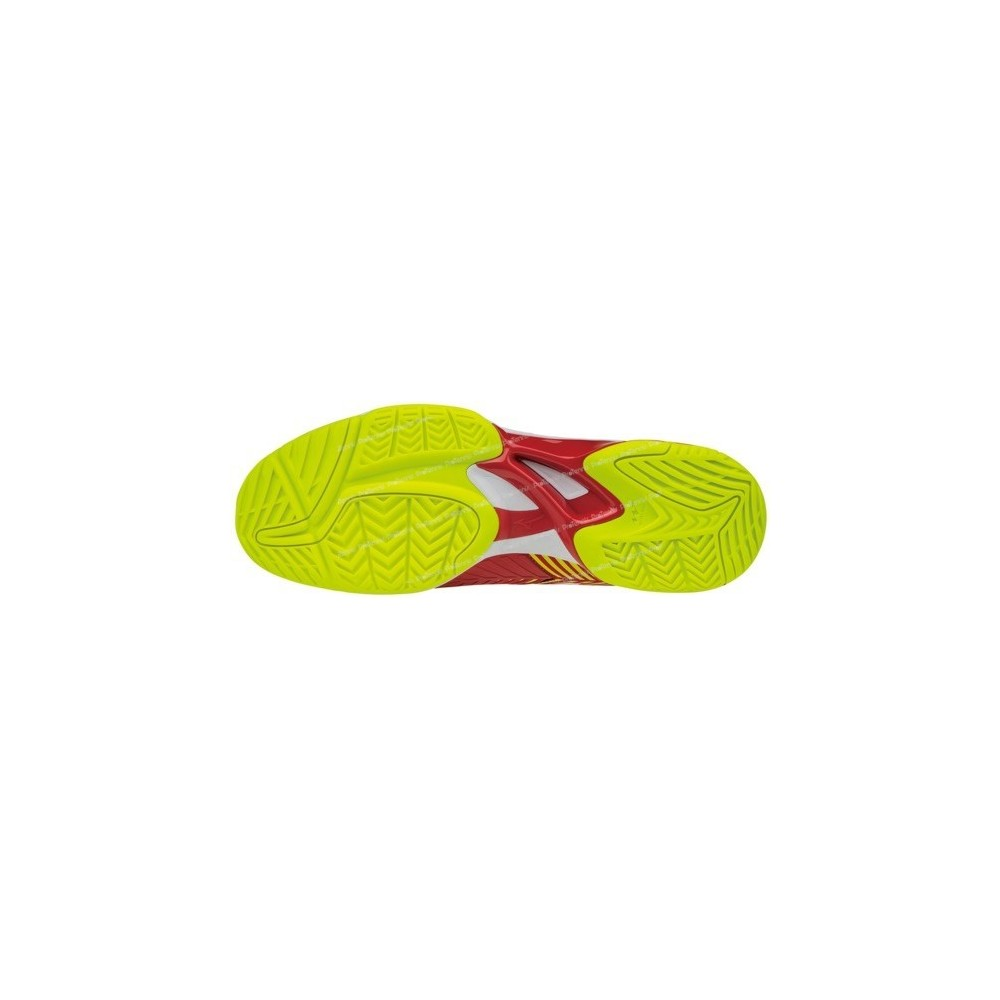 finest selection 17698 1c6da ... CHAUSSURES MIZUNO WAVE EXCEED TOUR 3 AC HOMME ROUGE PE18