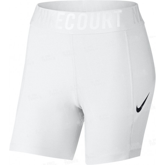 NIKE COURT POWER SOUS-SHORT BLANC