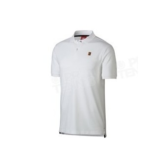 POLO NIKE MEN COURT HERITAGE BLANC PRINTEMPS 2018
