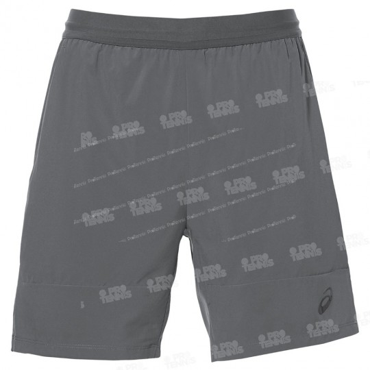 SHORT ASICS HOMME ATHLETE 7 GRIS AH17