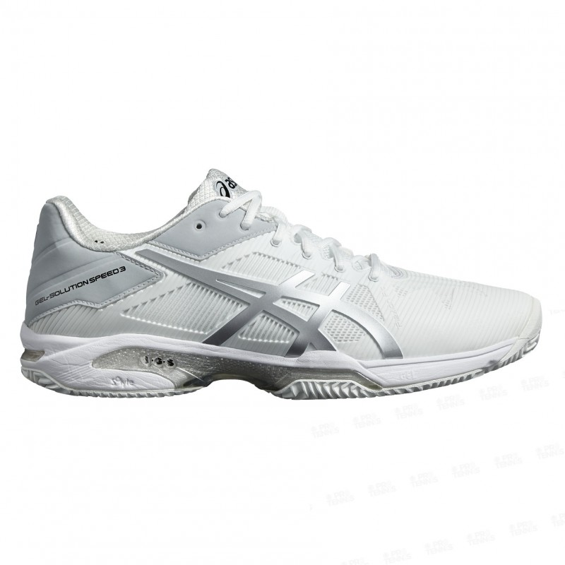 Silver Asics Pe18 Solution Gel Battue Homme Terre Blanc Speed 3 zxzw8Hnr