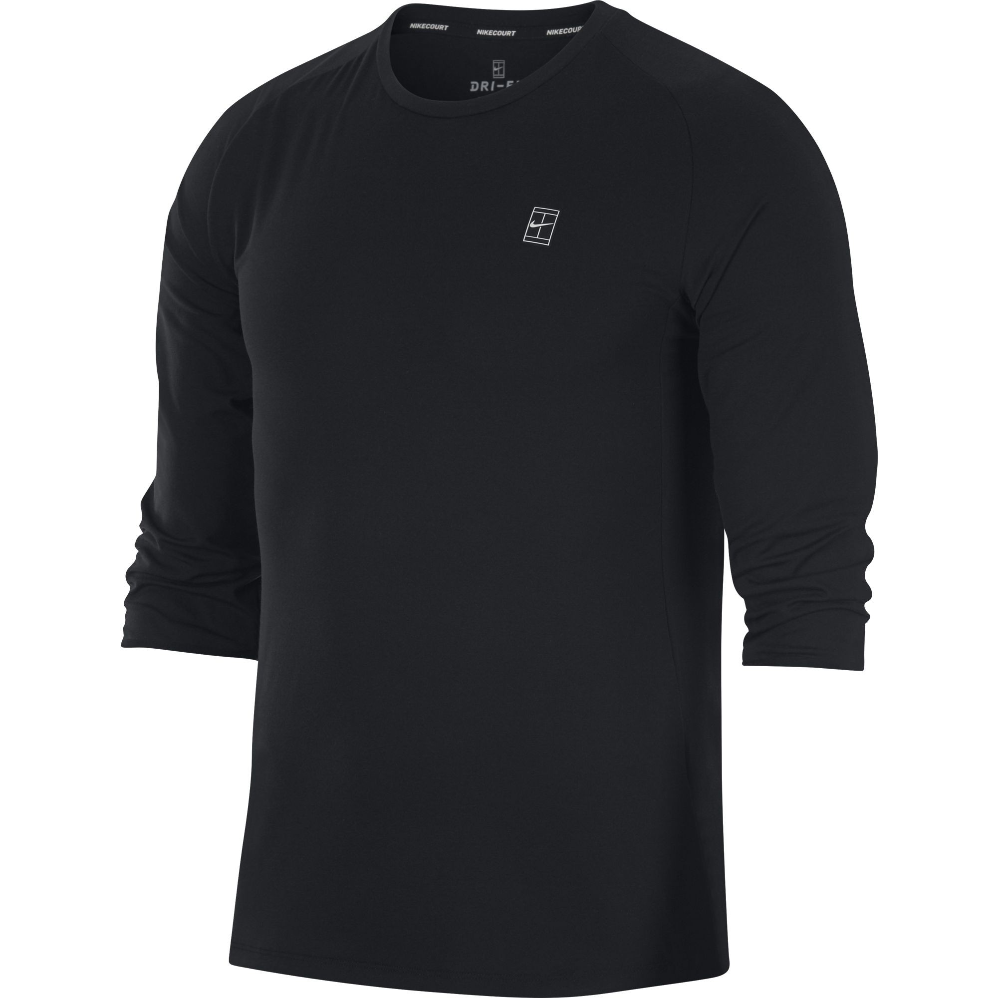 2d1c8eb7abb41 Nike Court Dry Challenger Top 3 4 Homme Ete 2018 - T-shirt De Tennis Homme T -shirt De Tennis Homme
