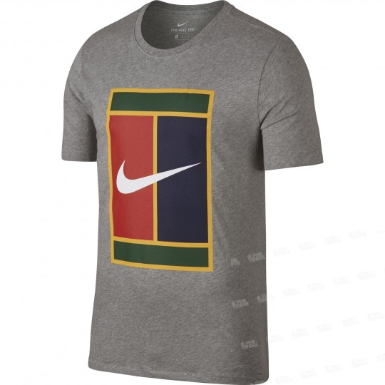 Nike Court Heritage Logo T-shirt Homme Ete 2018