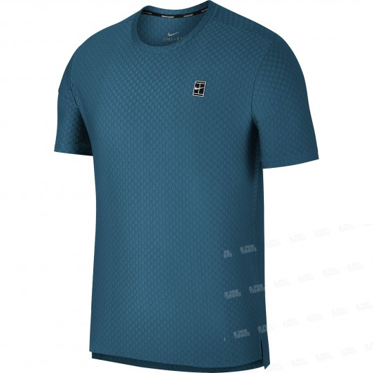 Nike Court Checkress SS Top Homme Ete 2018