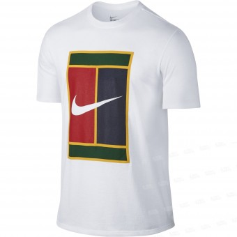 Nike Court Logo Heritage Tee Homme Automne 2018