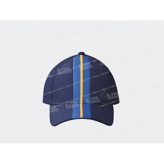 CASQUETTE ADIDAS PHARRELL WILLIAMS NY BLEU / JAUNE AH17