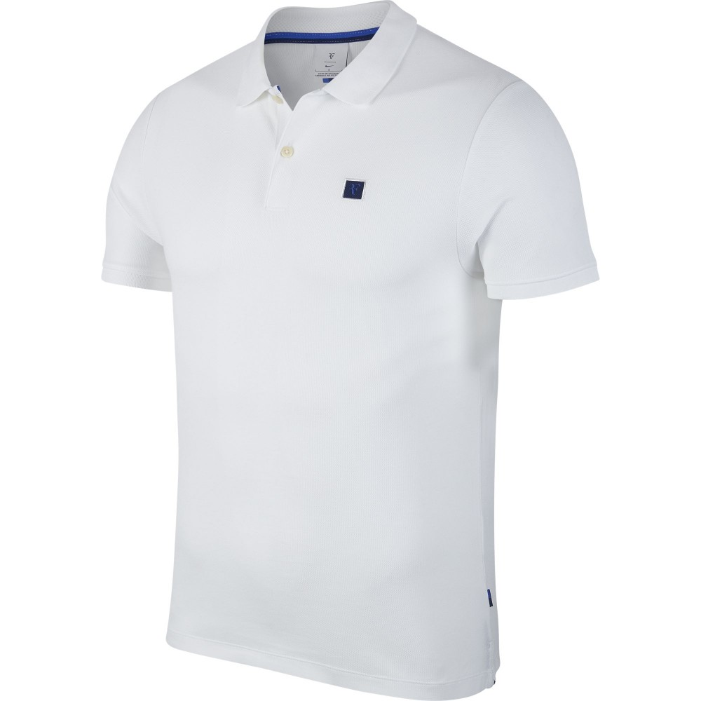 new products 5e3db 23aec Nike Court Polo Roger Federer Homme Automne 2018 ...