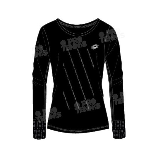 LOTTO WOMEN INDY 2 TEE NOIR AUTOMNE / HIVER 2016