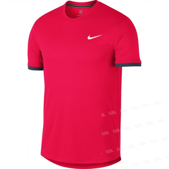Nike Court Dry Top Colourblock Homme Hiver 2018