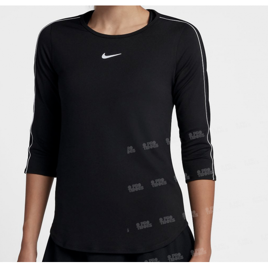 Nike Court Pure Top 3/4 Femme Hiver 2018