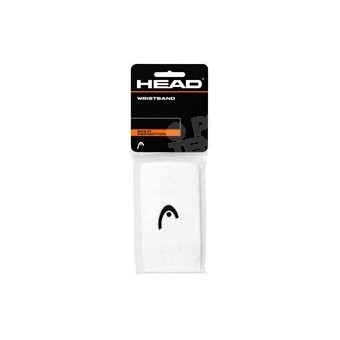 HEAD LOT DE 2 POIGNETS EPONGE 5' BLANC