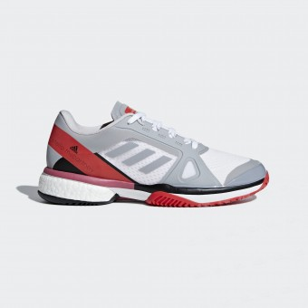 Adidas Barricade Boost by Stella Mc Cartney Gris / Rouge Femme AH18