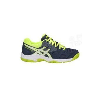 CHAUSSURES ASICS GEL PADEL PRO 3 JUNIOR MARINE / LIME PE18