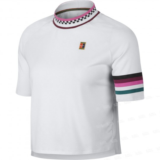 Nike Court Breathe Slam T-shirt Femme Printemps 2019