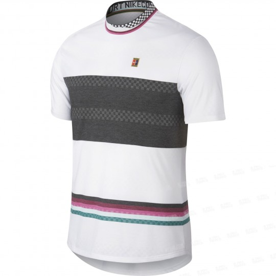 Nike Court Challenger T-shirt Homme Printemps 2019