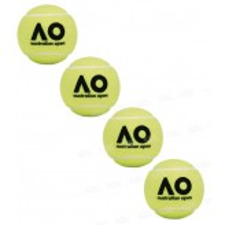 Dunlop Open Australie Tube de 4 Balles