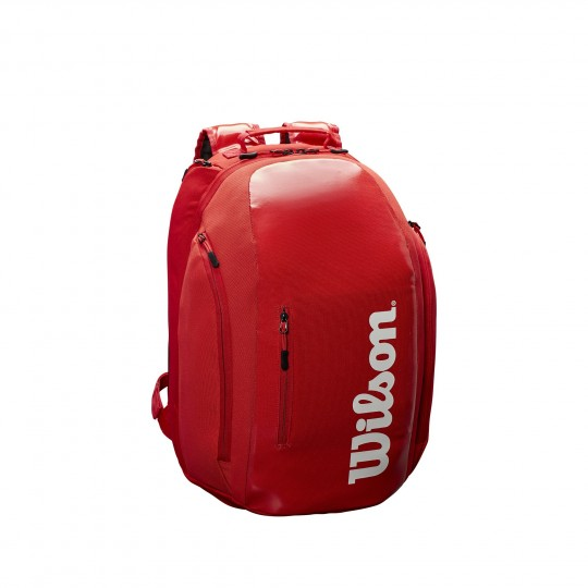 Wilson Super Tour Sac a Dos Rouge