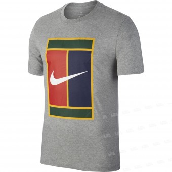Nike Court Logo Heritage Tee Homme Hiver 2018