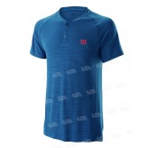 Wilson Competition Seamless Henley Polo Homme PE19