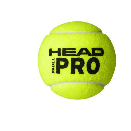 HEAD PADEL PRO (TUBE DE 3)