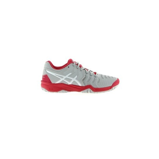 Asics Gel resolution 7 Junior Gris Rose AH17