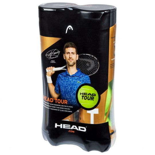 Head Tour Tube de 4 Balles