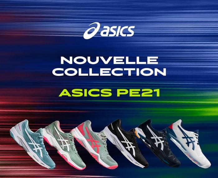 Asics Tennis Nouvelle Collection 2021 printemps-été - Protennis