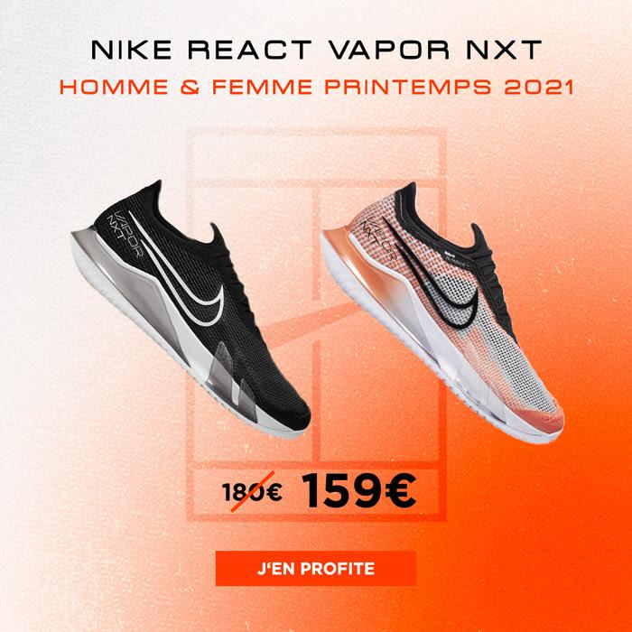 Chaussure de tennis NikeCourt React Vapor NXT - Protennis