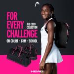 Nouvelle gamme de sacs de tennis Head & Coco Gauff