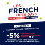 Opération commerciale Tennis : French Open Days.