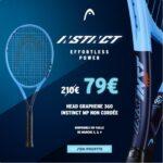 Raquette de tennis Head Graphene 360 Instinct.