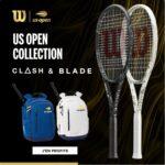 Les raquettes de tennis Wilson édition Us Open 2021