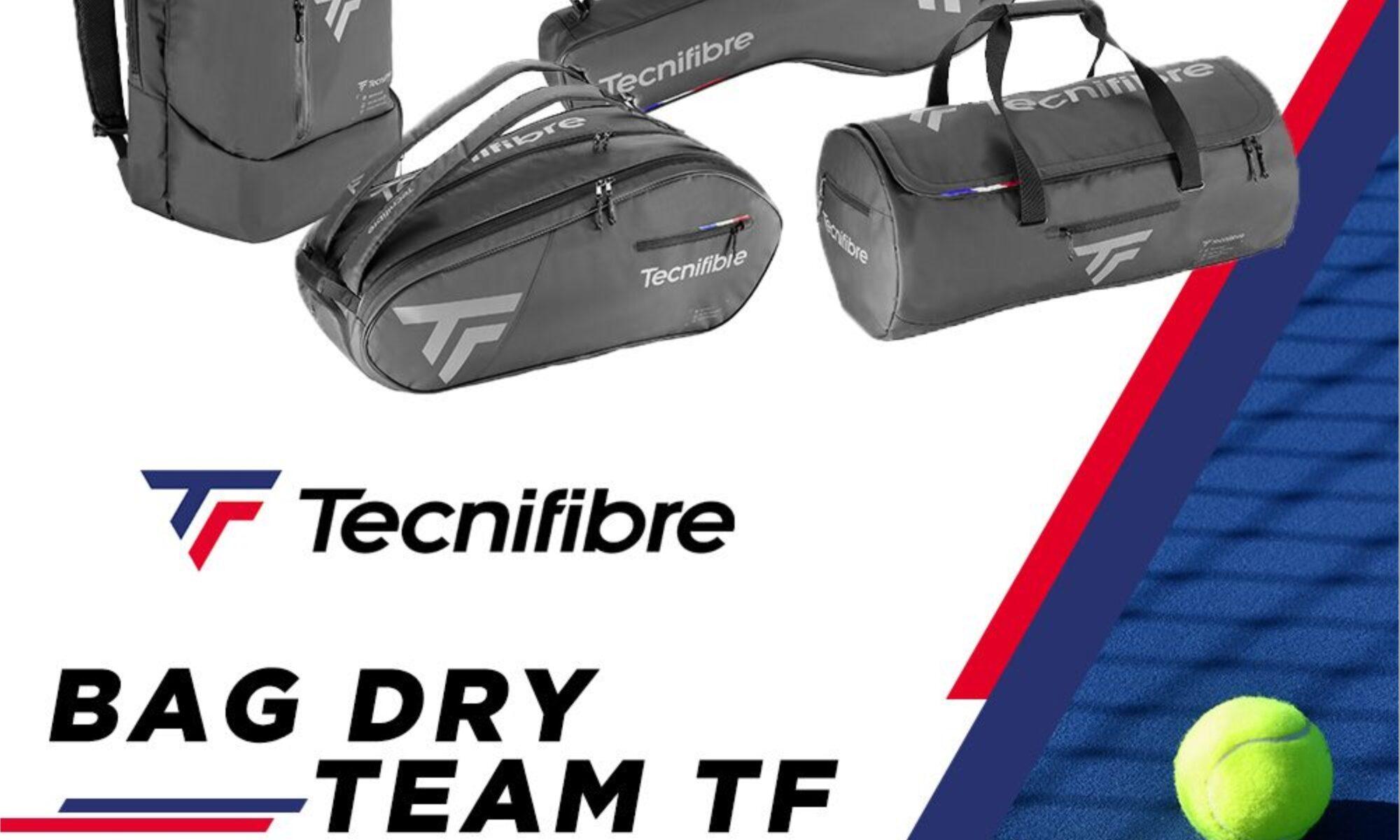 sacs de tennis team dry tecnifibre protennis