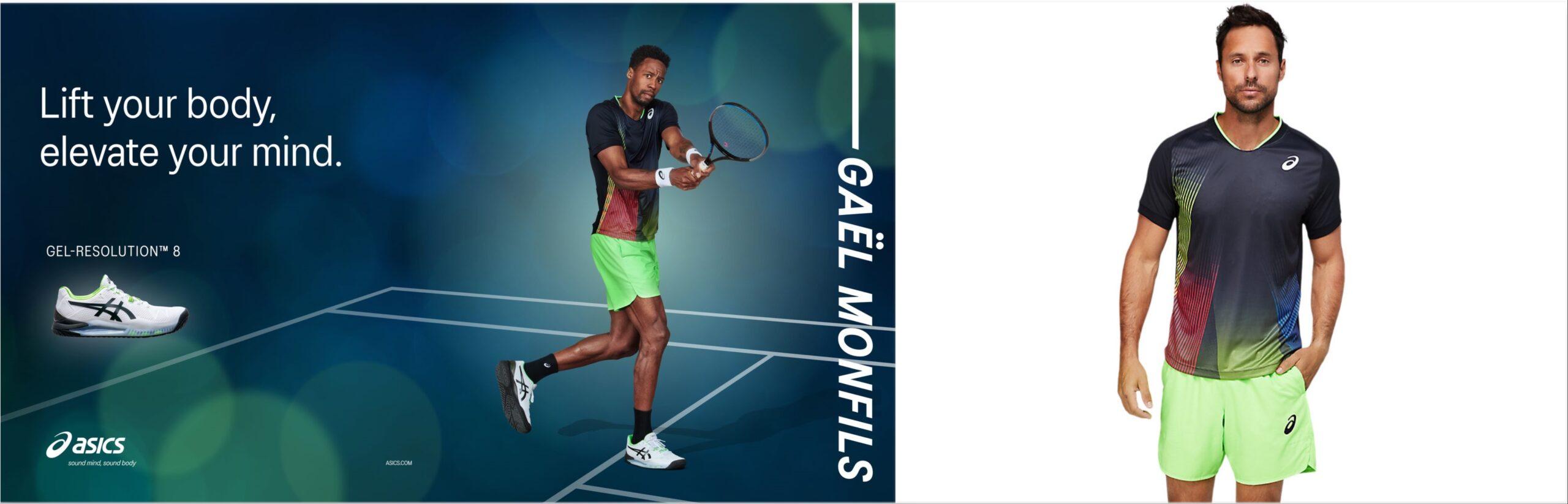 collection ah21 asics tennis
