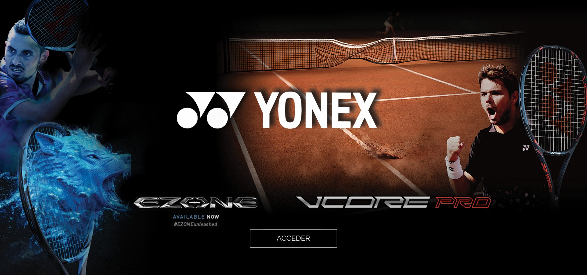 Nouvelle collection Yonex zone et Vcore